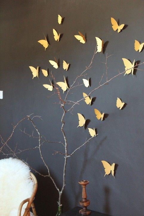 La couleur or de la finesse avant toute chose mh deco for Decoration murale doree