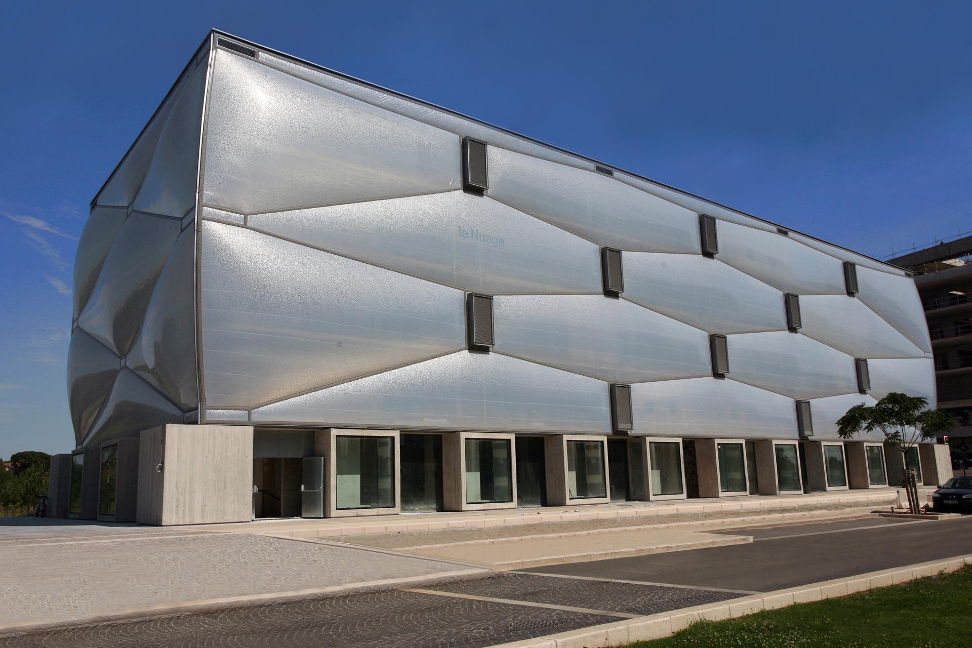 Montpellier Terrain De Jeu Des Architectes Contemporains