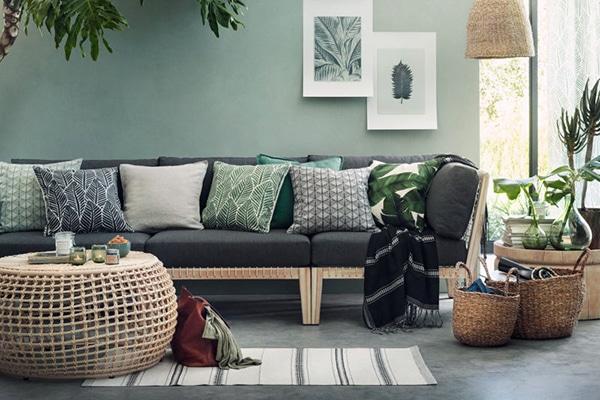 une d co tropicale pour un int rieur luxuriant mh deco. Black Bedroom Furniture Sets. Home Design Ideas