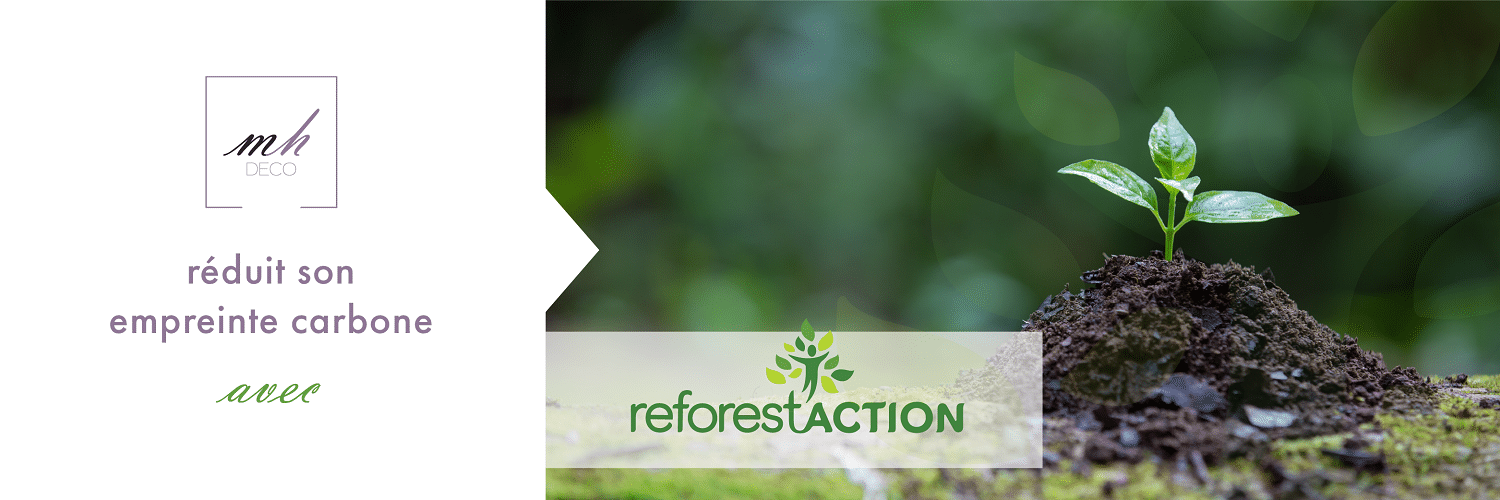 MH DECO soutient Reforest'Action