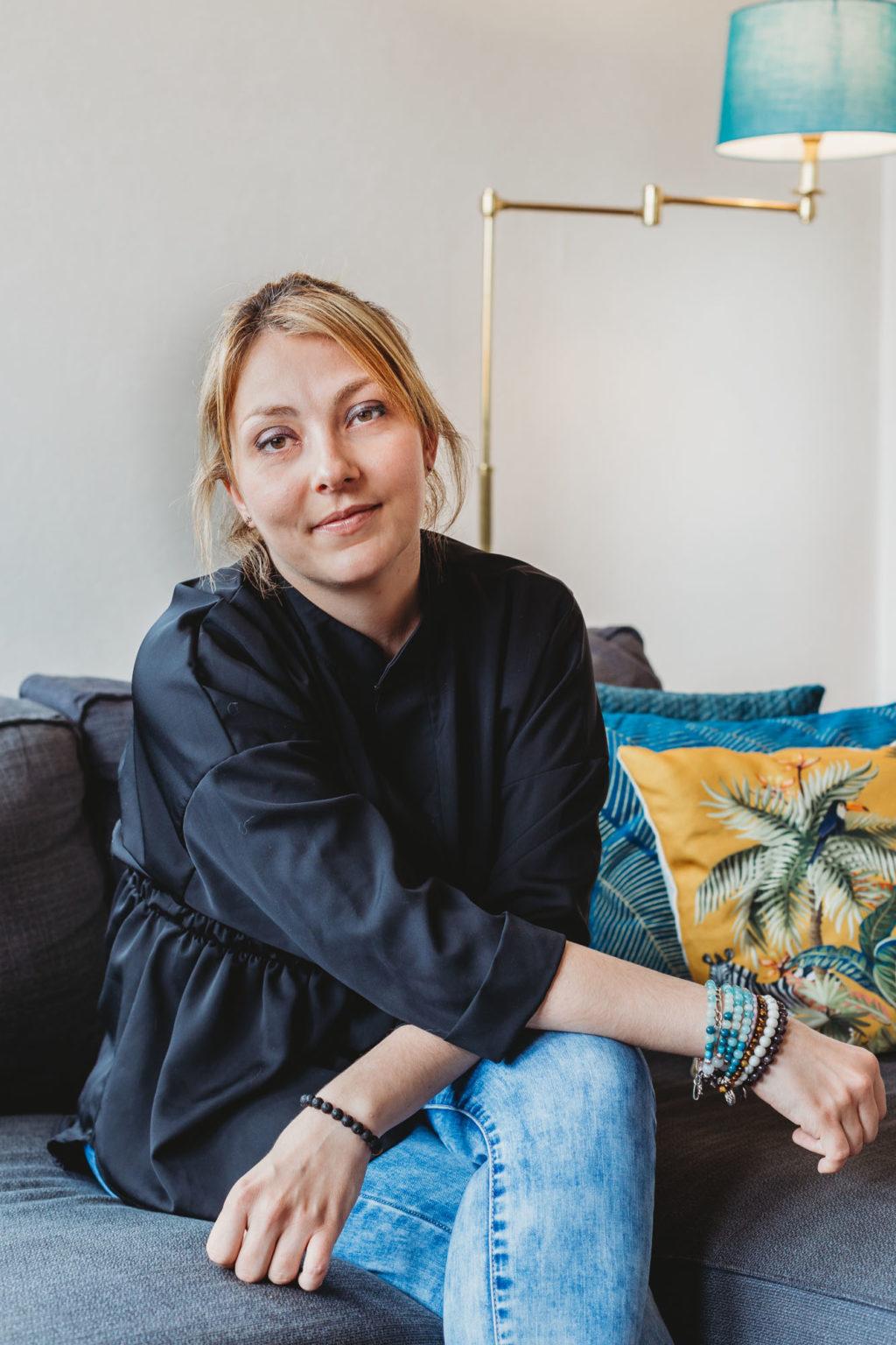 Mariane Foligné, décoratrice d'intérieur à Montargis