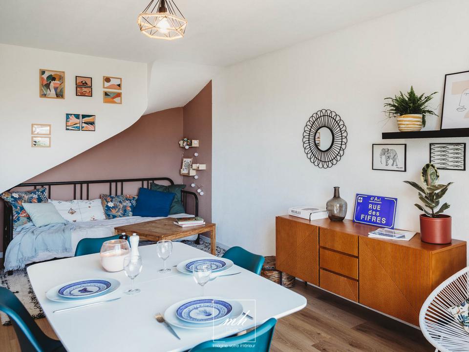 Aménagement d'un appartement en duplex à Mazargues par MH DECO Marseille