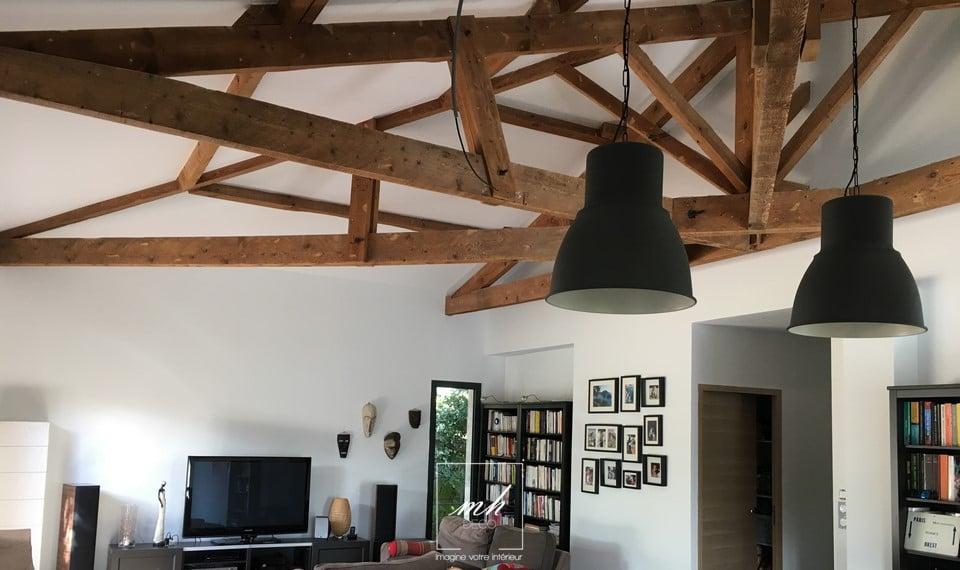 villa-interieur-charpente