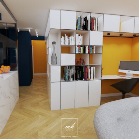 Rénovation d'un appartement au Prado par MH DECO Marseille