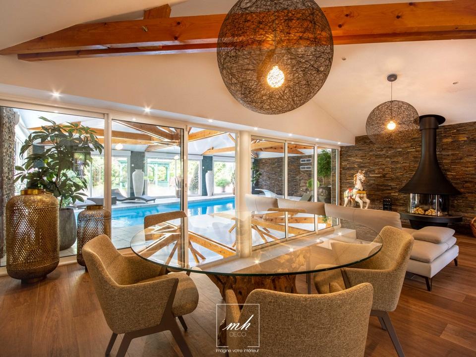 Aménagement et design d'intérieur d'une maison à Pontoise par MH DECO