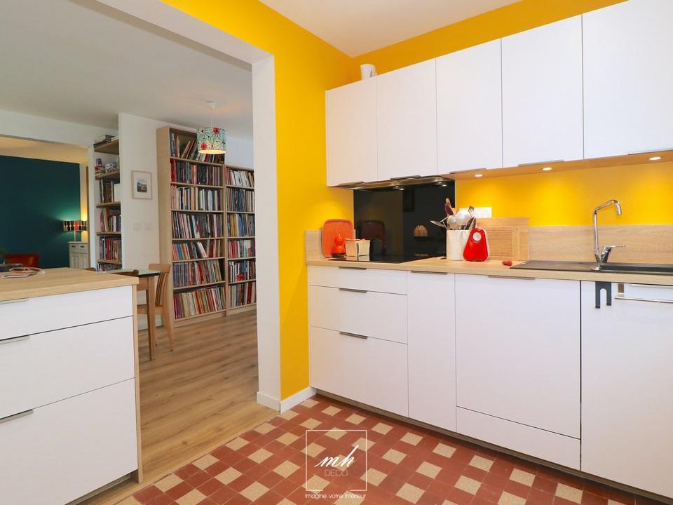 Rénovation d'une maison par MH DECO Nantes