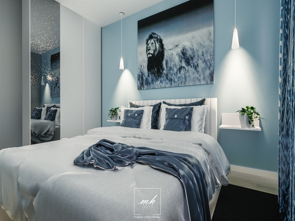 Rénovation intérieure d'un appartement à Champigny-sur-Marne par MH DECO