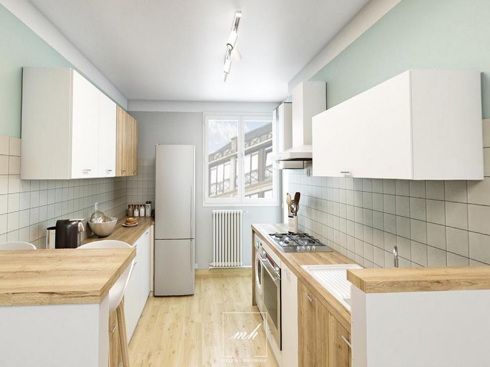 Rénovation cuisine et bains par MH DECO Caen