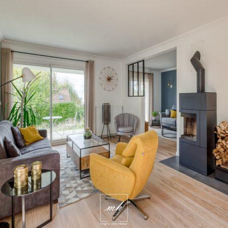 Aménagement d'un intérieur à Noisy-le-Roi par MH DECO