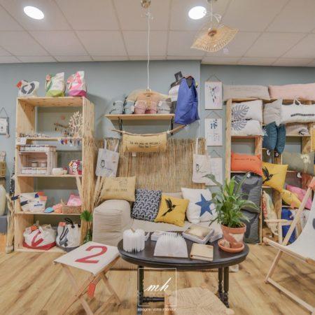 Aménagement d'un concept store à Salon-de-Provence par MH DECO